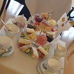 Afternoon tea on fine bone china