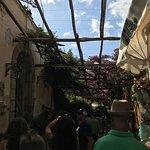 Walking in Positano