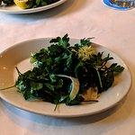 Green salad.