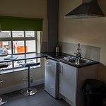 Kitchen Area Double Suite