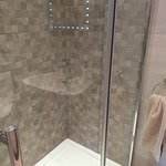 The well equipped shower