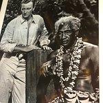 John Wayne, the Duke with Duke the famous surfer!