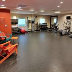 This is a view of the Spin2Cycle exercise room.