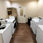 This is a view of the overall laundry area.