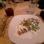 Enjoyed this entree at Gracias Madre. It was a delicious Quesadilla with Cheese and Sweet Potato