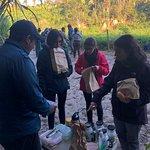 Gran desayuno-picnic en plena naturaleza con Jorge