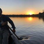 Atardecer en Lago Sandoval