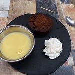 le dessert trés bon mouelleux au chocolat