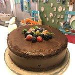 Orman meyveli çikolatalı pasta