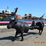 Корова индустриальная