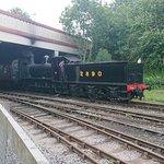 steam train, train viewing point