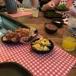 O prato principal, porco SanZé