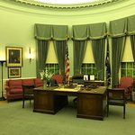 President Truman's Oval Office recreated in the museum