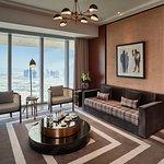 King Premier Suite Living Room