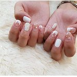 Don't be afraid because your nails are small and can't be designed well. Please trust us, with us nothing is impossible