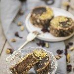Choco energy tart