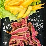 Tagliata di carne con patate