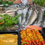 Fresh fish every Friday and Saturday from Veasey and Sons Fishmongers, Forest Row.