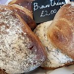 Freshly baked bread delivered to the Farm Shop every day.