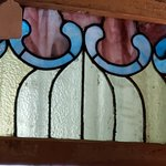 STAINED GLASS AT TREEHOUSE