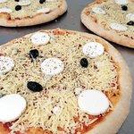 La 4 fromage prête pour la cuisson