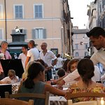 Always with smile! 🙌  #italianrestaurant #hosteriadeibaullari #campodefiori #summer
