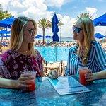 Tropical Drinks & Frozen treats at our pool deck bar, Cobalt