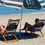 Beach service is provided at the main beach with very comfortable, custom lounge chairs.