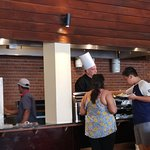 Executive Chef Adams makes the most delicious dishes at cafe Bem