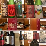 鮮魚や刺身、季節の野菜天ぷら、魚料理、海鮮丼や名物の親父焼き(イカ肝焼き)などおすすめメニューも多く、女将が自ら集めた日本酒も70種類と豊富です。