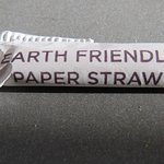 Yea...paper straws. So good for the environment.