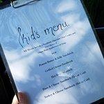 Kids menu!