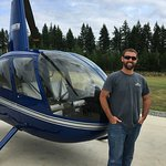 Our pilot Brad 😃