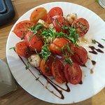 סלט עגבניות - היה בסדר