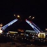 Brücken bei Nacht.