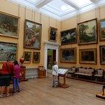 Paintings in Art Gallery.