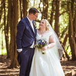 One of our wedding pictures from within the grounds of Taplow House