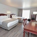 Chambres deux lits pavillons