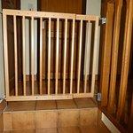 portail de sécurité escalier pour enfants