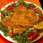 Cotoletta alla Milanese con Pomodori