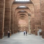 Passeando e conhecendo cidades de Portugal e Espanha e aqui estamos em Mérida na Espanha visitando o Museo Nacional de Arte Romano.