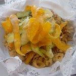 Fritto misto con verdure