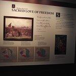 PA - PHILADELPHIA - KOSCIUSZKO NM #14 - INFO BOARD ON LOVE OF FREEDOM