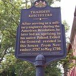 PA - PHILADELPHIA - KOSCIUSZKO NM #17 – HISTORICAL MARKER #2 – BETTER LIGHT