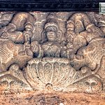 Intricately carved stone, 16th c, Kerala