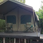 Accommodations at Julia's River Camp (Hippo Camp)
