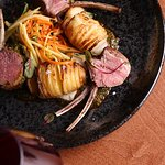Rack of Lamb from our daily menu.