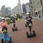 Visiting the #Boston to see the #Redsox this season? Join us on a #Segway #tour during your #family trip! 😎 www.bostonsegwaytours.net