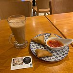Tea and Samosa