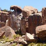 Tafoni-Felsformationen an der Laguna Negra (1)